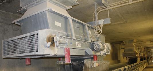 Volumetric weight-based belt extractor VBE / WBE